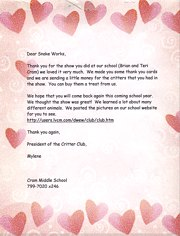 happy customer letter